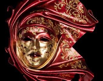 Venetian Mask Ceramic Ignis