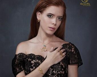 Women's Gift, Bird Bracelet, Gold Swallow Bird Bracelet, Dainty Bird Bracelet, Handmade Chain Bracelet, Bird Charm Bracelet, Charm Jewelry