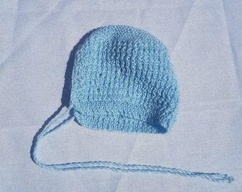 Baby Bonnet Blue