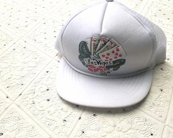 Vintage Las Vegas Trucker Cap