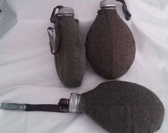 Original WWII Sweden Swedish Army Water canteen bottle