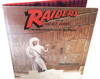 Cover for IPad or Kindle DX Case, Raiders of the Lost Ark Book, Gadget Device case for Tablet Device