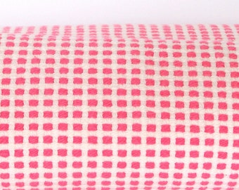 Fabric - Home Dec Deep Pink and White Check