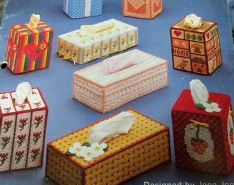 Plastic Canvas - Tissue Boxes