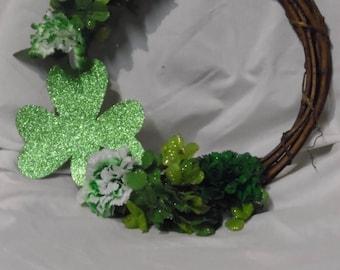 Shamrock Flower Wreath