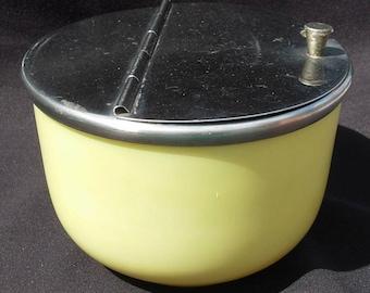 MEDCO Flip Top Yellow Sugar Bowl