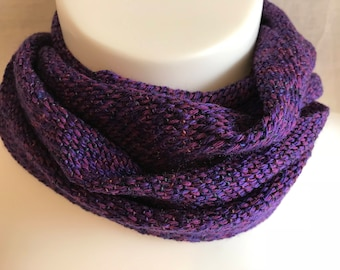 Handwoven Scarf | Purple Scarf | One Of A Kind | Versatile Scarf | Fashion Accessory | Gift For Her | Classy Scarf | Long Scarf | Purple