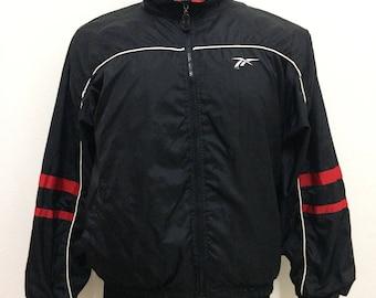Vintage Reebok Windbreaker Sport Track Top Jacket