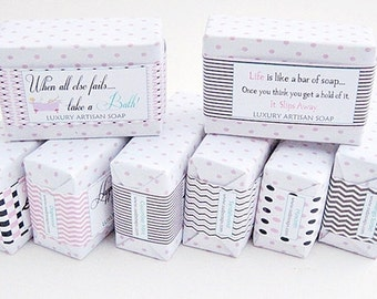 Personalized Guest Soaps