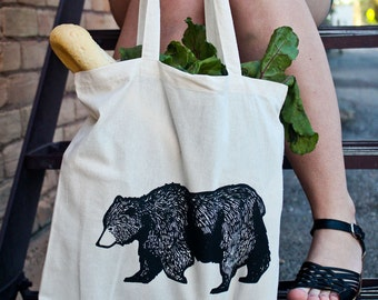 Bear Market Tote Bag