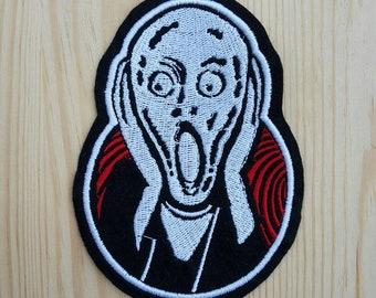 The Scream of Munch - Skrik Patch