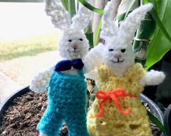 Original  Pair of bunnies