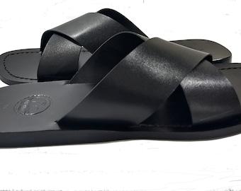 All Leather Sandal - Miami Slip ON