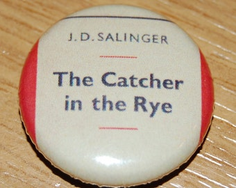 Catcher in the Rye Cover Button Badge 25mm / 1 inch JD Salinger Holden Caulfield