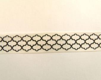 10 m Masking Tape Washi Tape tape black and white