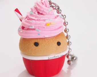 Vanilla Scented Cupcake Charms/Keychains