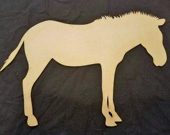 Zebra Wood Cutout, Laser Cut, Zoo Animal Shaped, DIY Unfinished, Crafters, Paint Your Own by Liahona Laser on Etsy