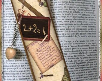 """Laminated bookmarks """"Nostalgia"""""""