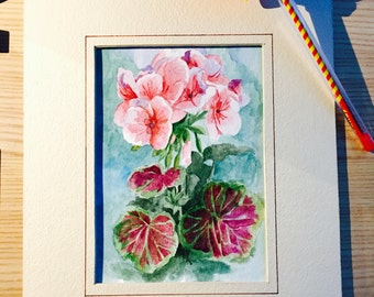 Flower Painting (without frame)
