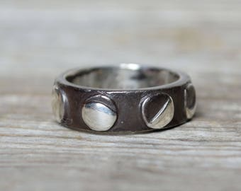 Moon Phases Ring Eclipse Gift Sterling Silver Stackable Ring Wedding Ring Promise Ring Phases of the Moon Gift Best Friend Birthday Gift Her