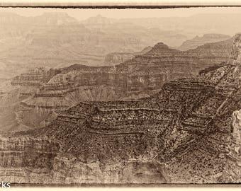 Grand Canyon #4 Sepia