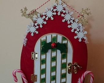 Festive magical door