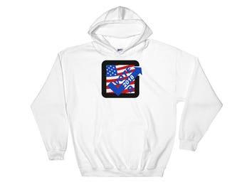 Vote Democratic in 2018 Hooded Sweatshirt