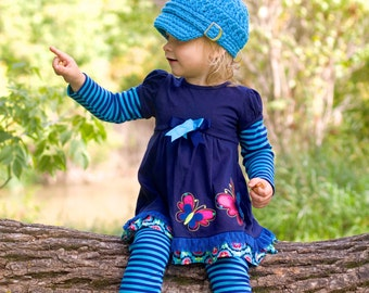 5 Sizes Bright Blue Newsboy Cap Baby Newsboy Hat Baby Girl Newsboy Baby Boy Newsboy Toddler Newsboy Toddler Girl Toddler Boy Womens Newsboy