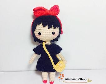 Crochet Doll Pattern-KiKi