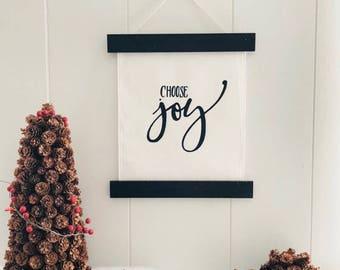 Choose Joy Wall Hanging