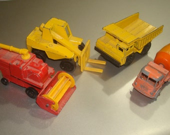 4 Vintage Lesney Matchbox Vehicles