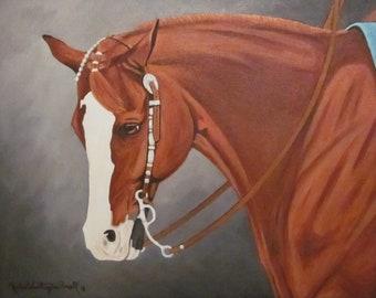 Commissioned Horse Portrait 16x20