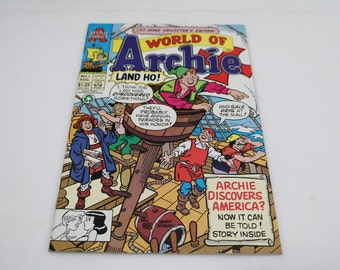 1992 Archie Comic Book - No 1 - World of Archie