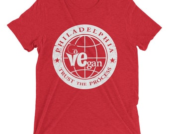 Go Vegan - Trust The Process T Shirt