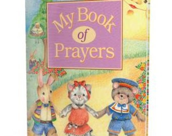 This personalized kids book is a beautiful story sprinkled with Prayers.  in addition to child's name, It incorporates friends and family.