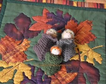 Waldorf family of small acorns