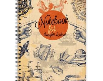 Notebook A5 - Retro Collage