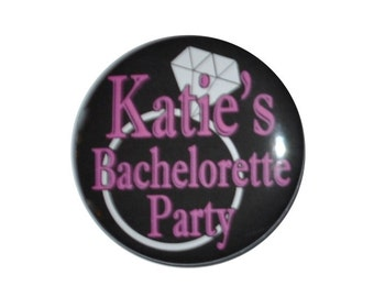 Personalized Bachelorette PartyTeam Bride to Be Wedding Party Stag Party party 2 1/4 inch buttons