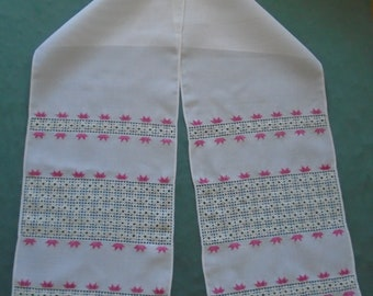 Ukrainian Hand Embroidered Towel, Rushnyk, Ukraine