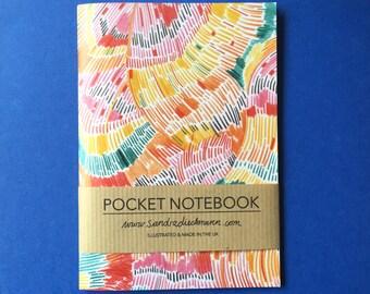 Notebook, Jotter, Mini Sketchbook | Pattern 6