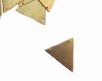 Brass triangle