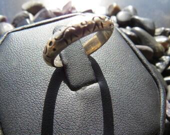 Southwest Vintage Sterling Silver Ring Size 7 1/2