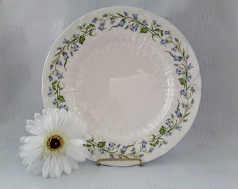 Shelley Gainsborough Harebell Dinner Plate, Made in England