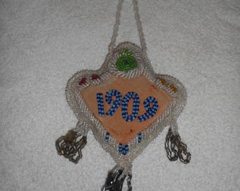 Antique Native American Iroquois Whimsey Bag