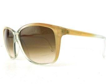 vintage sunglasses retro hipster boho vintage sunglasses costume sun glasses plastic peach nude italy italian