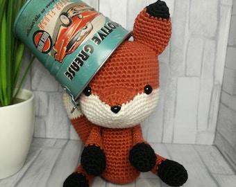 Fox Amigurumi Handmade Woven crochet