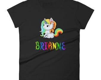 Brianne Unicorn Ladies T-Shirt