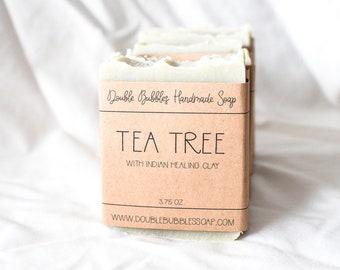 Handmade Soap - Tea Tree