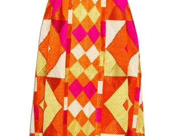 Authentic Very Vintage Old Needle Point Handmade Stitch Embroidered Work Phulkari From Pakistan Bagh Multi Color Ladies Coat Back Less Dress
