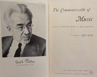 Commonwealth of Music Reese & Brandell 1965